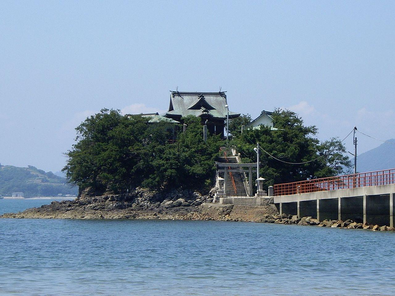 津島神社(香川県)のアクセスや御朱印とお守りについて!鉄道ファン必見?